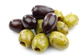 olijven gezonde snack